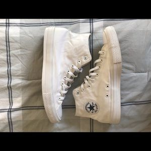 Other - All white converse